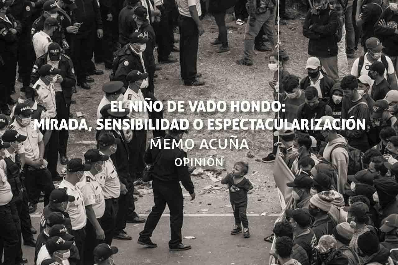 El niño de Vado Hondo, caravana migrante