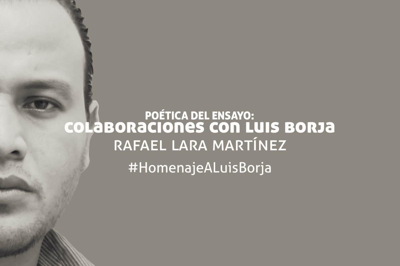 Homenaje al poeta Luis Borja
