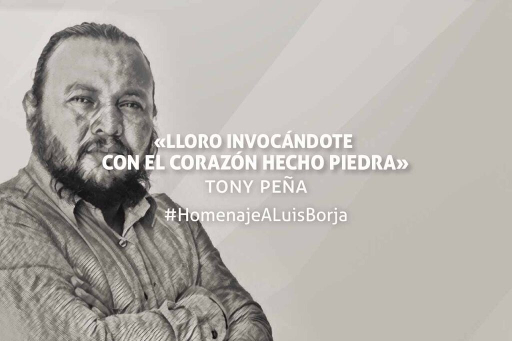 Homenaje de Tony Peña a Luis Borja