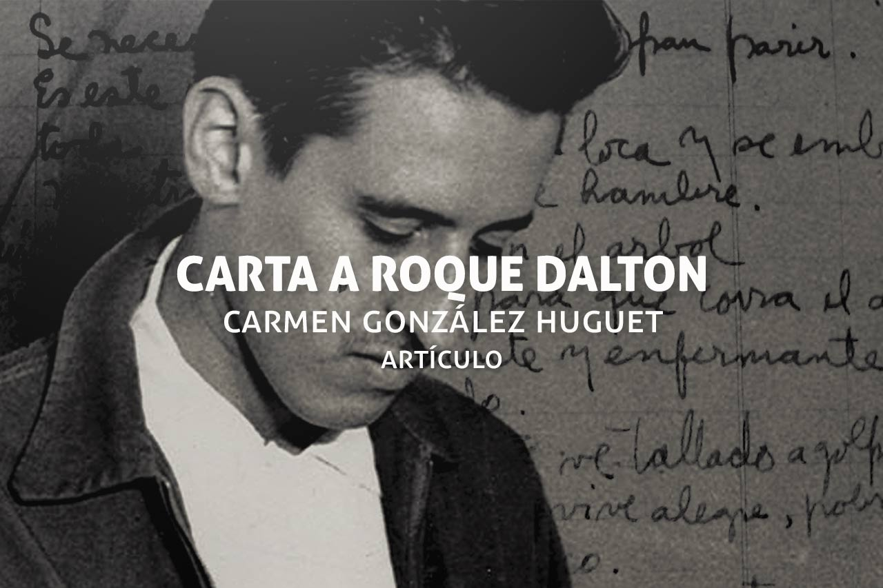 Carta de Camen González Huguet a Roque Dalton