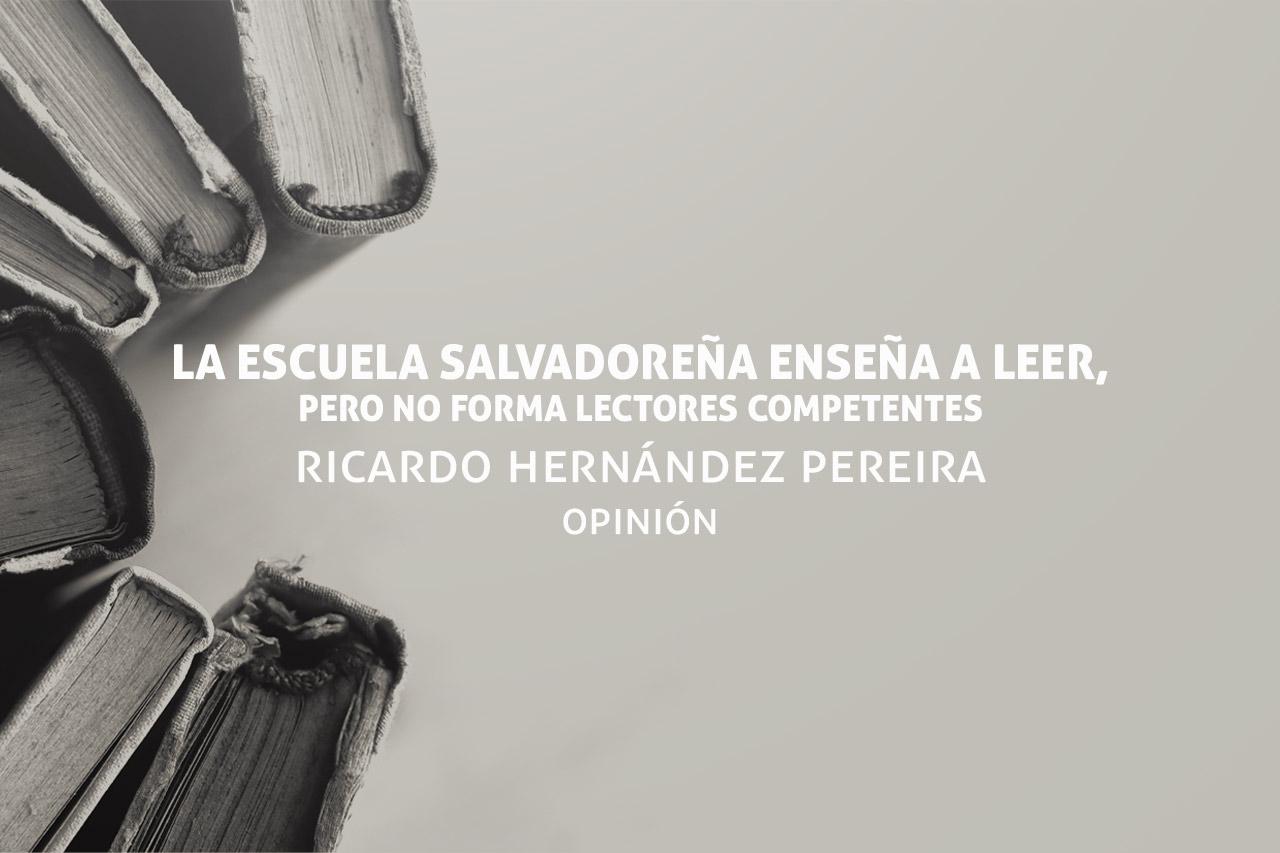 Enseñanza en El Salvador, enseñar a leer bien