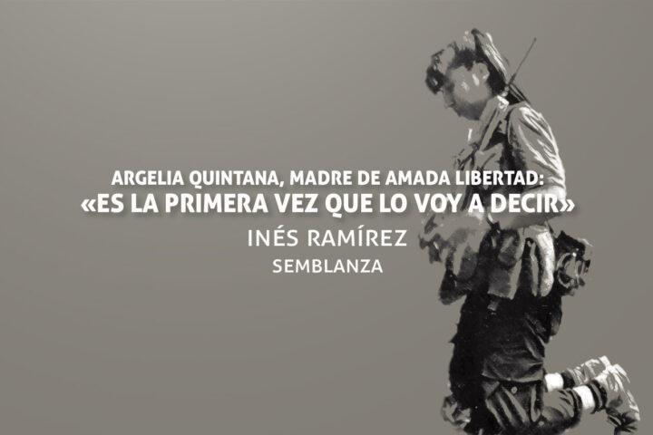 Semblanza de Leyla Quintana, seudónimo de Amada Libertad