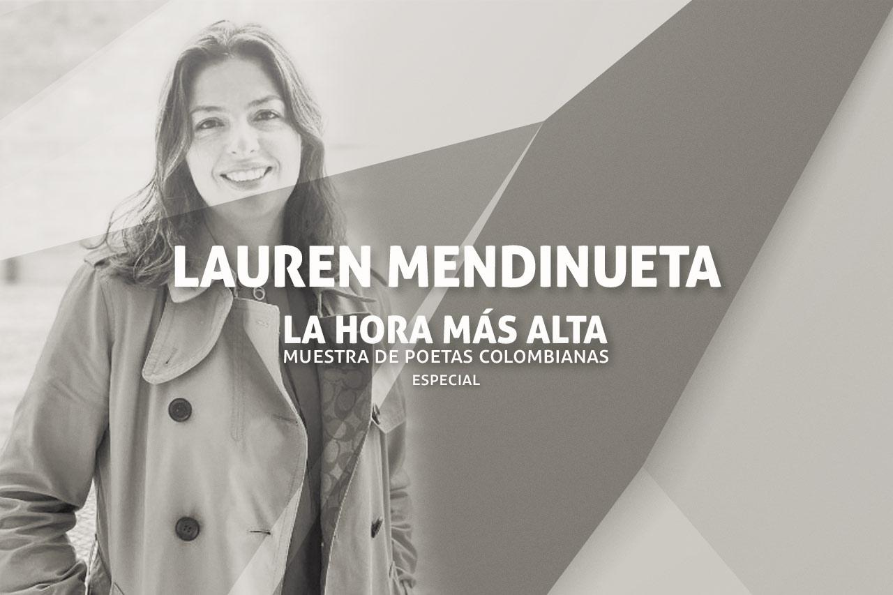 Poemas de Lauren Mendinueta