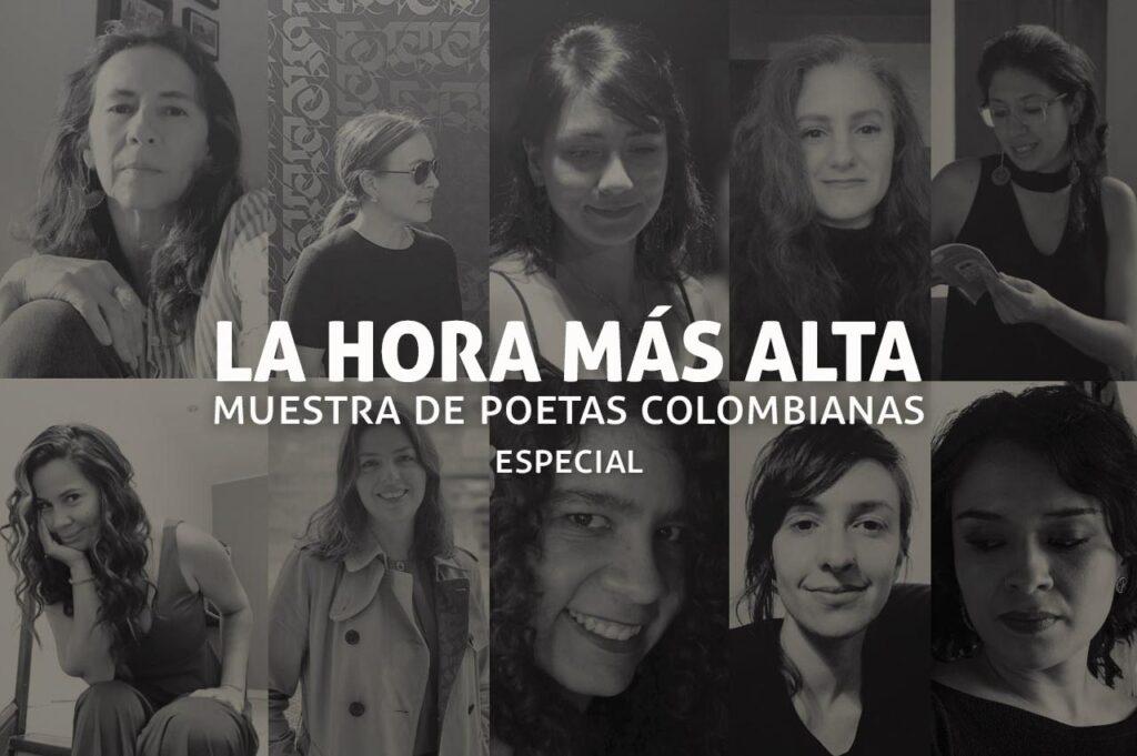 La hora más alta, muestra de poetas colombianas